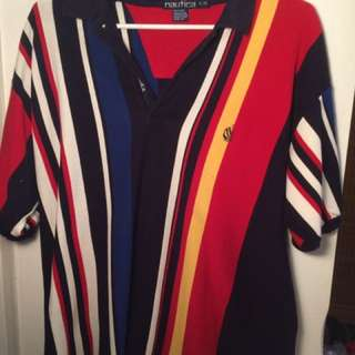Nautica Polo Striped