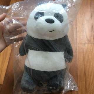 Panda Plushie (We Bare Bears)