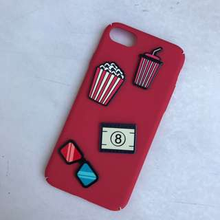 Red Hardcase For Iphone 7