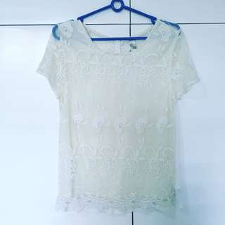 Repriced Forever 21 Lace Top