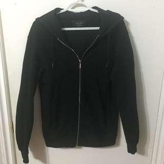 Zara Man Black Zip