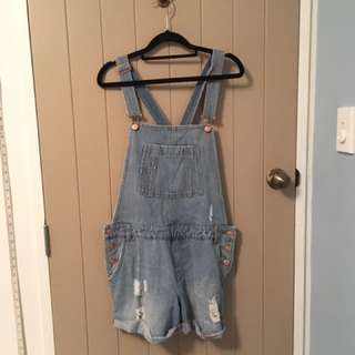 Denim Overalls Size 12