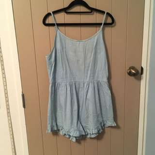 Blue Summer Jumpsuit (size 12)