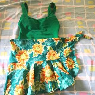 2 Pcs Swimwear Baju Renang