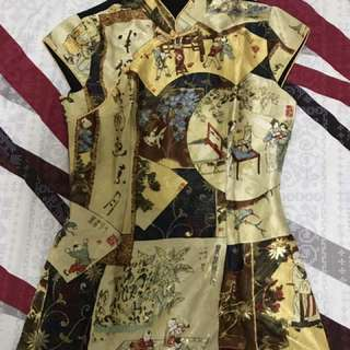 Cheongsam Top (Small)