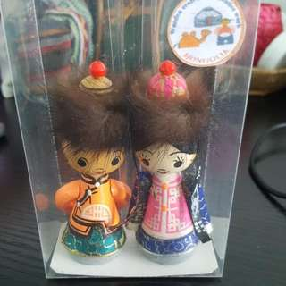 Mongolian figurines