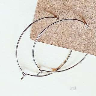 🚚 ♥圈圈耳環(銀色保留中)