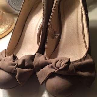 Brown/beige High Heels