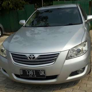 Toyota Camry 2008 V AT Silver
