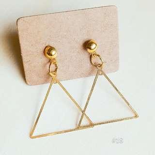 🚚 ♥三角耳環(保留中)
