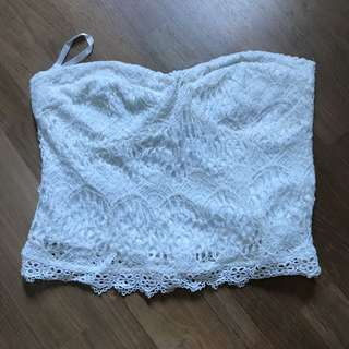 Hollyhoque Bustier Top
