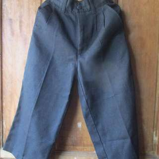 Formal Black Pants For 3-4 Years Old