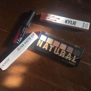 Authentic Makeup Bundle (NYX, KYLIE, L.A. Girl, Colourpop)