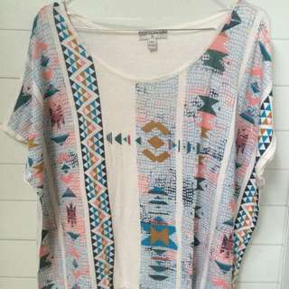 COTTON ON TRIBAL T-SHIRT