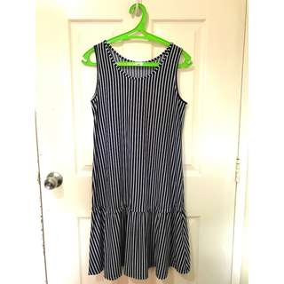 Used Uniqlo Stripe Dress