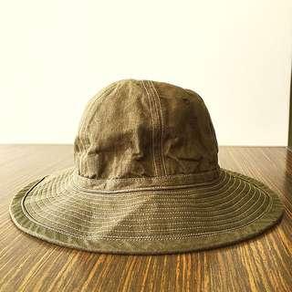 Nigel Cabourn USMC Jungle Hat Olive Size M Made in Japan
