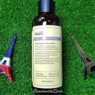 Authentic Klairs Supple Preparation Facial Toner