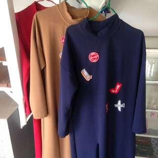 Patch Slit Dress (Zara look alike)