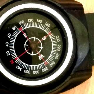 Strapped Compass