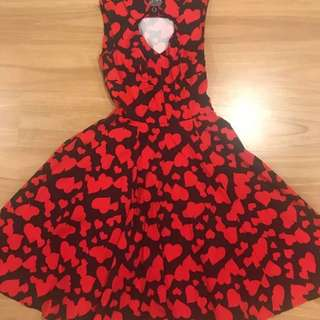 Hearts And Roses Dress