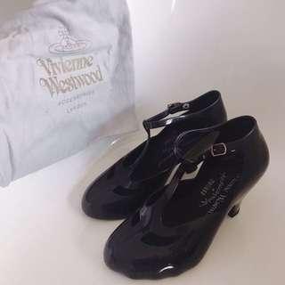 Vivienne Westwood  x melissa 瑪莉珍低跟鞋 雨鞋 果凍鞋
