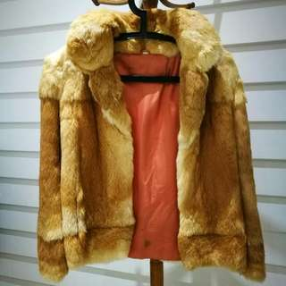 Genuine Vintage Fur Bomber Coat