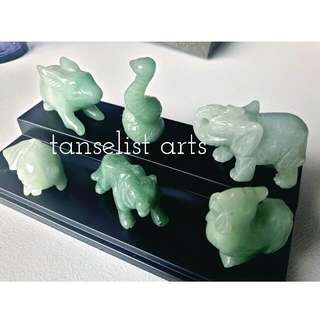 Jade Animal Figures