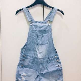 Cotton On Distressed Dungarees