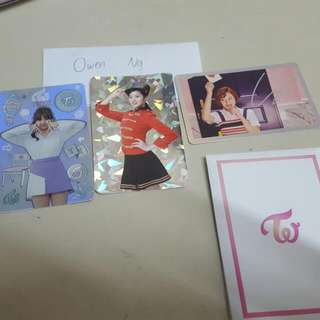 WTS TWICE OFFICIAL PHOTOCARD