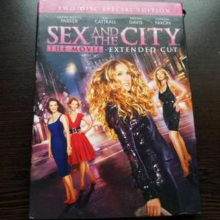 Sex And The City Movie Two-Disc Special Edition DVD