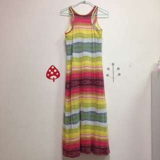 🚚 Uniqlo 洋裝_彩虹 #好物任你換 #手滑買太多  #我的女裝可超取