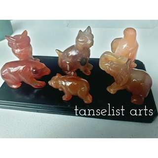 Agate Animal Figures