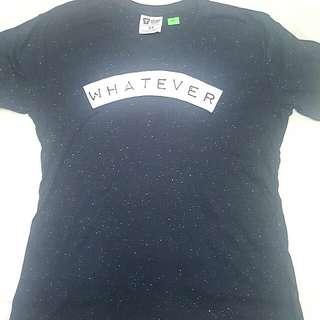 """Whatever"" T Bar Shirt"