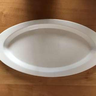 Large Oval Ceramic Platter