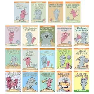 "BN Mo Willems "" Elephant and Piggie "" books SET 1 Children's books"