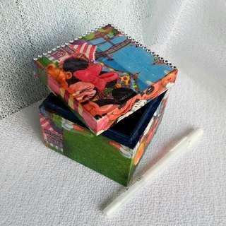 手作3D拼貼盒(ID101)