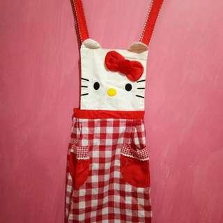 Apron/celemek Hello Kitty
