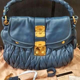 66c40c1f45bd Miu Miu Coffer Matelasse Handbag