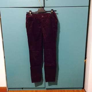 Armani Exchange Suede pants
