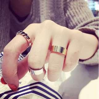 本店實拍✨(現貨限時打折)氣質韓風戒指三件套個性大氣日韓版簡約甜美關節戒指氣質指環戒指 shy008
