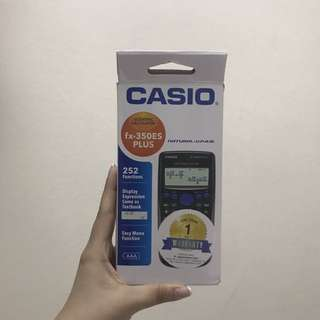BNIB CASIO FX-350ES PLUS SCIENTIFIC CALCULATOR
