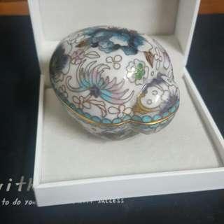 早期景泰藍琺瑯彩盒