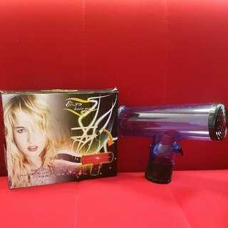 曲髮造型風筒配件(藍色)Curls Hair Dryer Accessory