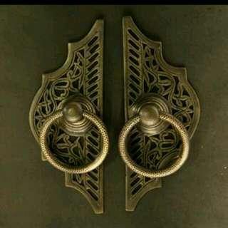 Handle / Ring Pull / Tarikan Pintu Gebyok Kuningan /brass Gby 059