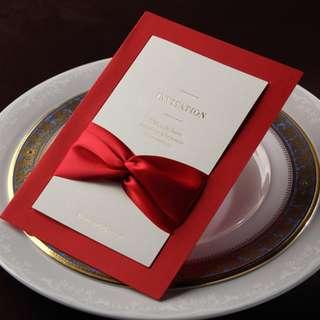 wedding invitation card C102