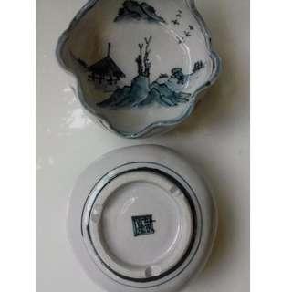 Japanese landscape inpired ceramic ware