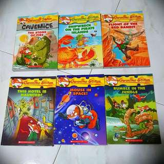 Geronimo Stilton Storybooks