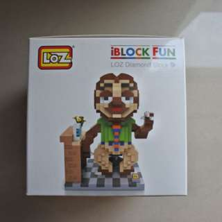 LOZ IBLOCK MINI BLOCK - SLOTH (ZOOTOPIA)