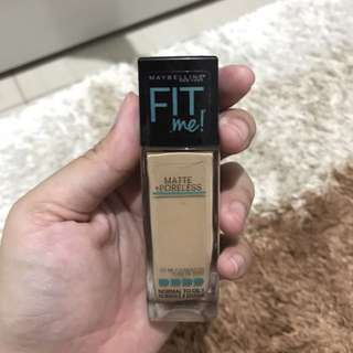 Maybelline  Fit Me Foundation Matte