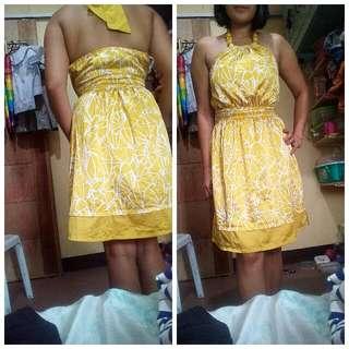 F21 Yellow Dress